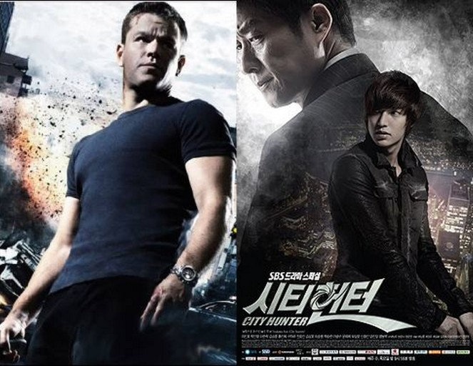 City Hunter vs Jason Bourne