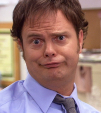 Dwight as Jim